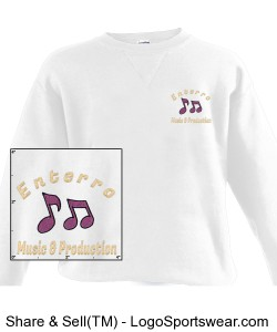 Enterro Youth Crewneck Sweatshirt Design Zoom