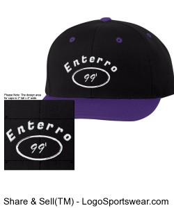 enterro Classic Snapback Cap by Yupoong Design Zoom