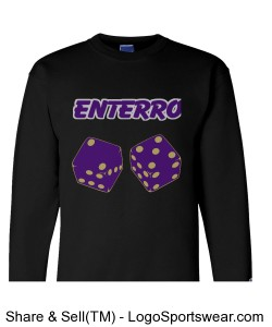 enterro Champion 9 Oz Fleece Crew Design Zoom